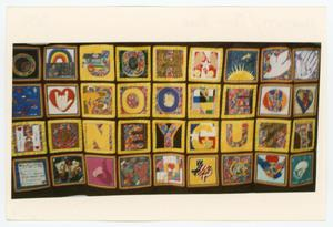 Primary view of object titled '[AIDS Memorial Quilt Panel for John Boone Honeycutt]'.