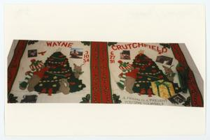 Primary view of object titled '[AIDS Memorial Quilt Panel for Wayne Crutchfield]'.