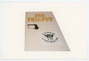 Primary view of object titled '[AIDS Memorial Quilt Panel for Joe Philpot]'.