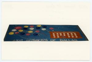 Primary view of object titled '[AIDS Memorial Quilt Panel for AIDS Services of Dallas]'.