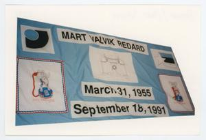 Primary view of object titled '[AIDS Memorial Quilt Panel for Mart Valvik Redard]'.
