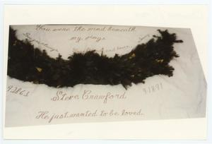 Primary view of object titled '[AIDS Memorial Quilt Panel for Steve Crawford]'.