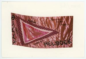 Primary view of object titled '[AIDS Memorial Quilt Panel for Billy Helbock]'.