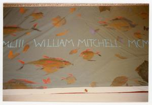 Primary view of object titled '[Quilt Panel for William Mitchell]'.