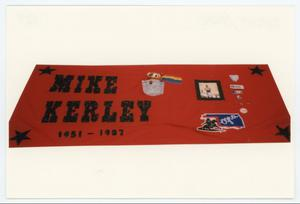 Primary view of object titled '[AIDS Memorial Quilt Panel for Mike Kerley]'.