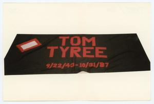 Primary view of object titled '[AIDS Memorial Quilt Panel for Tom Tyree]'.