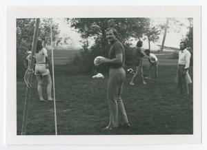 Primary view of object titled '[Five People Playing Volleyball]'.
