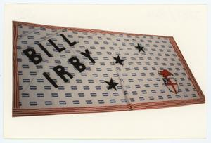 Primary view of object titled '[AIDS Memorial Quilt Panel for Bill Irby]'.
