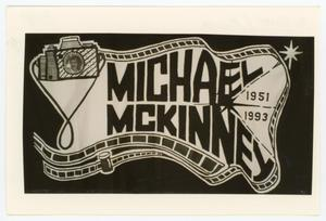 Primary view of object titled '[AIDS Memorial Quilt Panel for Miahcael McKinney]'.