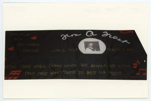 Primary view of object titled '[AIDS Memorial Quilt Panel for Timothy Allen Frost]'.