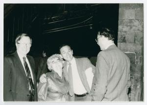 Primary view of object titled '[Don Ross, Martha Ross, Ron Grele, and Carl Ryant]'.