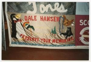 Primary view of object titled '[Quilt Panel for Dale Hansen]'.