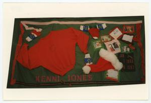 Primary view of object titled '[AIDS Memorial Quilt Panel for Kenni Jones]'.