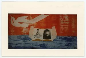 Primary view of object titled '[AIDS Memorial Quilt Panel for Thomas H. Tatham]'.