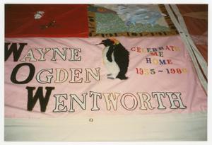 Primary view of object titled '[AIDS Memorial Quilt Panel for Wayne Ogden Wentworth]'.