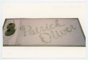 Primary view of object titled '[AIDS Memorial Quilt Panel for Patrick Oliver]'.