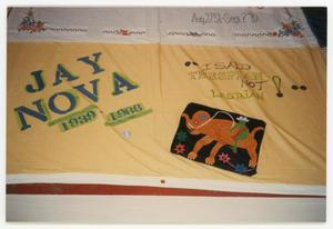 Primary view of object titled '[AIDS Memorial Quilt Panel for Jay Nova]'.