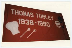 Primary view of object titled '[AIDS Memorial Quilt Panel for Thomas Turley]'.