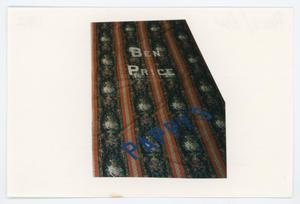 Primary view of object titled '[AIDS Memorial Quilt Panel for Ben Price]'.