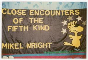 Primary view of object titled '[AIDS Memorial Quilt Panel for Mikel Wright]'.