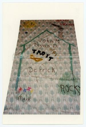 Primary view of object titled '[AIDS Memorial Quilt Panel for Nash House]'.