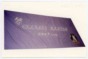 Primary view of object titled 'AIDS Memorial Quilt Panel for Charles Martin]'.