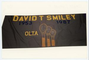 Primary view of object titled '[AIDS Memorial Quilt Panel for David T. Smiley]'.