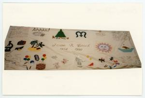Primary view of object titled '[AIDS Memorial Quilt Panel for Jason R. Beach]'.