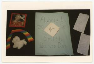 Primary view of object titled '[AIDS Memorial Quilt Panel for Aubrey L. Smith]'.