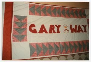 Primary view of object titled '[AIDS Memorial Quilt Panel for Gary Way]'.