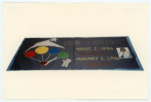 Primary view of object titled '[AIDS Memorial Quilt Panel for Keith J. Kreider]'.