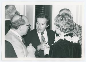 Primary view of object titled '[Former Presidents Sam Proctor, Chas Crawford, and Alice Hoffman]'.