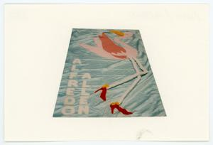 Primary view of object titled '[AIDS Memorial Quilt Panel for Alfredo Allen]'.