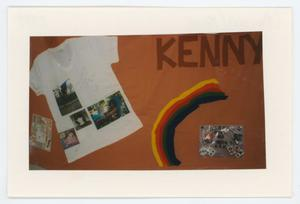 Primary view of object titled '[AIDS Memorial Quilt Panel for Kenny Paluzzi]'.
