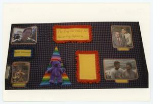 Primary view of object titled '[AIDS Memorial Quilt Panel for Keith Johnson]'.