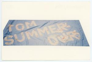 Primary view of object titled '[AIDS Memorial Quilt Panel for Tom Summerour]'.