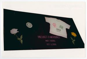 Primary view of object titled '[AIDS Memorial Quilt Panel for Michael D. Woodall]'.