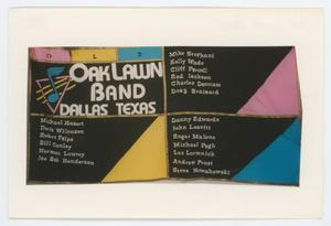 Primary view of object titled '[AIDS Memorial Quilt Panel for Oak Lawn Band]'.