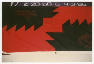 Primary view of object titled '[AIDS Memorial Quilt Panel for Roger Buskey]'.