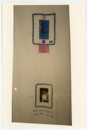 Primary view of object titled '[AIDS Memorial Quilt Panel for John Lance Foster II]'.