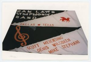 Primary view of object titled '[AIDS Memorial Quilt Panel for Oak Lawn Symphonic Band (Detail I)]'.