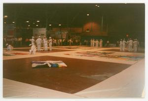 Primary view of object titled '[AIDS Quilt and NAMES Project Members]'.