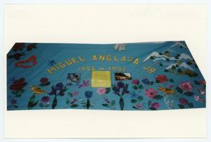 Primary view of object titled '[AIDS Memorial Quilt Panel for Miguel Anglada Jr.]'.