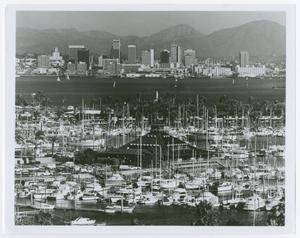 Primary view of object titled '[San Diego Skyline]'.