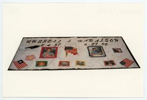 Primary view of object titled '[AIDS Memorial Quilt Panel for Russell Haralson]'.