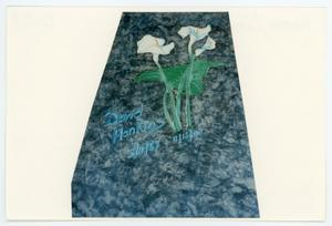 Primary view of object titled '[AIDS Memorial Quilt Panel for David Hankins]'.