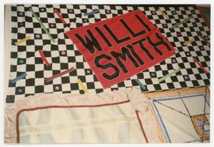 Primary view of object titled '[AIDS Memorial Quilt Panel for Will Smith]'.