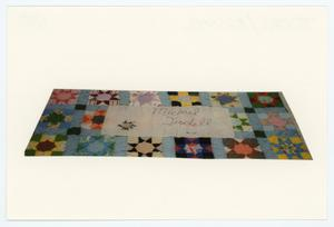 Primary view of object titled '[AIDS Memorial Quilt Panel for Michael Tisdell]'.