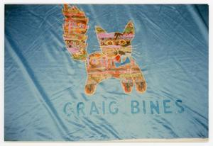 Primary view of object titled '[Quilt Panel Dedicated to Craig Bines]'.