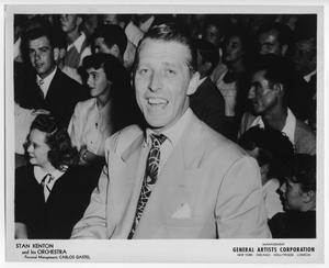 Primary view of object titled '[Photograph of Stan Kenton and Audience]'.